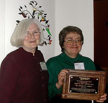 Barbara Hammond and KNona Liddell